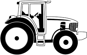 Farm Tractor Drawing At Getdrawingscom Free For Personal Use Farm