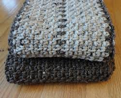 Free Mens Crochet Scarf Pattern Mesmerizing Free Pattern] Super Fast Men's Scarf Knit And Crochet Daily