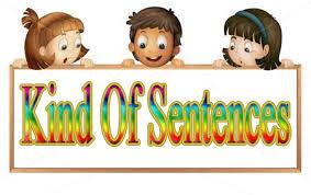 Image result for kinds of english sentences