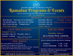 as salamu alai and jummah mubarakah here is an at a glance of ramadan programs and events so you can stay up to date pic twitter ltasylpmwr