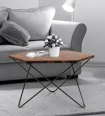 hexo solid wood coffee table in