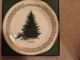 Christmas Trees Collectible Plates By Lenox USA At Replacements LtdLenox Christmas Tree Plates