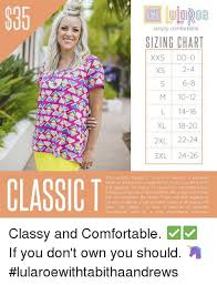 Simply Comfortable Sizing Chart Xs 2 4 6 8 10 12 L 14 16 Xl