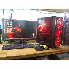 Bộ máy tính chơi GAME màn 22inch full HD thùng led cấu hình siêu cao bán