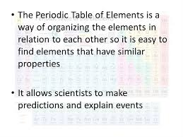 How is the Periodic Table of Elements Organized? - ppt video ...