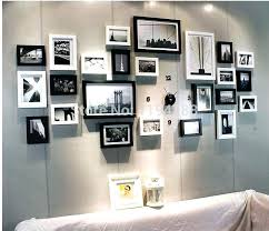 black collage frames modern art love family wall decoration wood picture photo frame wall collage frame set large black photo collage frames