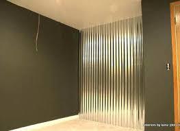 corrugated sheet metal panels interior keywords wall how covering
