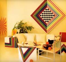 Colorful '80s design image from The LA Times California Home Book via  drydockshop