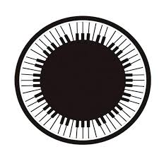 round moroccan rug black and white rug soft crystal velvet fiber round piano rectangle stripe geometry