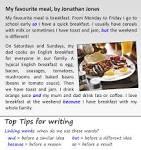 my favourite dessert essay