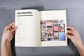 How To Make A Process Book Graphic Design Graduate Visiting Designers Process Book On Behance