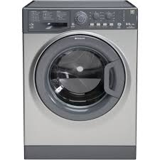 Hotpoint Washer Dryer Combo Hotpoint Aquarius Wdal 8640g Washer Dryer Graphite Hotpoint Uk