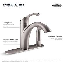 mistos kitchen faucet in stainless steel