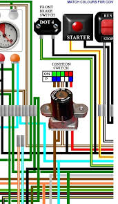 honda cb400 4 cb400f four uk spec colour wiring loom diagram honda cb400 4 cb400f four uk colour wiring diagram