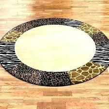 brown zebra print rug round zebra print rug brown round rug round animal print rugs safari brown zebra print rug