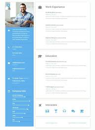 Simple Website Templates Interesting Simple Resume Website Template Best Solutions Of Free E Resume