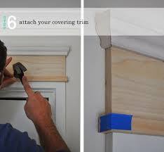 diy adding moulding to door frames the painted hive