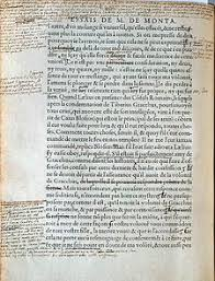 essays montaigne montaigne essais manuscript jpg author michel de montaigne