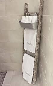 Driftwood Bathroom Accessories 17 Best Ideas About Ladder Towel Racks On Pinterest Ladder Racks