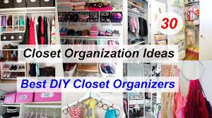 30 Closet Organization Ideas Best DIY Closet Organizers YouTube