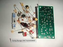range fm radio transmitter rf