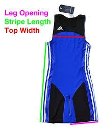 Adidas Weightlifting Singlet Size Chart Adidas Weightlifting Singlet Sizing Guide Hookgrip Store