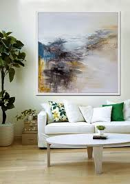 large wall art abstract painting contemporary art abstract abstract art living room