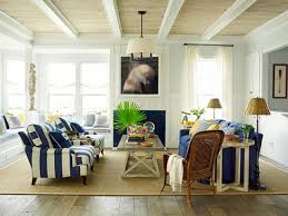 Ceiling: whitewashed plank with painted white beams. (Source ...