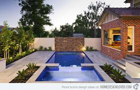 Small Picture Swimming Pool Backyard Designs 15 Amazing Backyard Pool Ideas Home