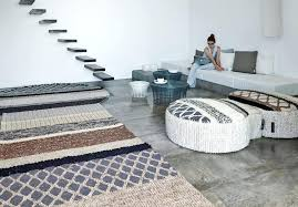 image via unique shaped rugs odd solution for spaces the right rug a rug shaped
