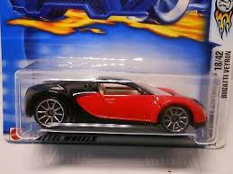 The bugatti veyron diamond edition the world's most luxurious and expensive model car. 2003 Hot Wheels 30 Red Black Bugatti Veyron Diecast Toy Vehicles Cars Trucks Vans