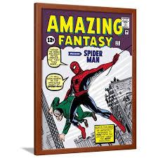 marvel comics framed wall art