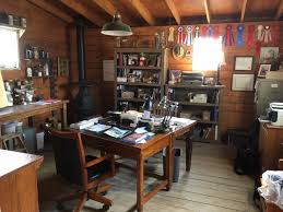 office barn. Here Is The Office Set To Side Of Barn, When It Was Ready For  Scenes Be Filmed In It. Barn