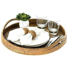 wicker serving trays wicker serving tray large round wicker rattan serving trays wicker serving tray