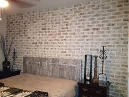 my diy brick wall martha stewart metallic glaze specialty finish paint 10oz