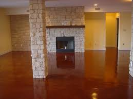 Stained Concrete Kitchen Floor Decorative Concrete Of Virginia Stained Concrete Stamped