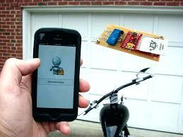 opening garage door with iphone garage door opener garage door opener