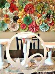 Paper Rosette Flower How To Make Paper Rosettes Beautiful Paper Rosette Wall Decor