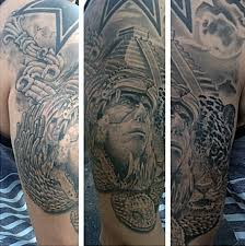 Aztec Tattoo Patterns Fascinating 48 Aztec Tattoos For Men Ancient Tribal And Warrior Designs