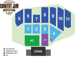 Country Jam Vip Seating Chart 29 Genuine Buckeye Country Fest Seating Chart