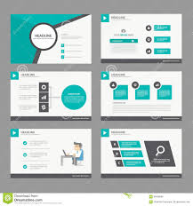 black green presentation template annual report brochure flyer black green presentation template annual report brochure flyer elements icon flat design set for advertising marketing