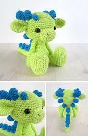 Free Crochet Dinosaur Pattern Stunning Free Crochet Dinosaur Pattern The Friendly Dino In 48 Moogly's