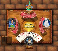 Hearts Play Hardwood Hearts Online