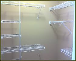 Elegant Closet Shelving Installation Rubbermaid Wire Closet Shelving