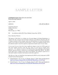 Business Letter Format Sent Via Certified Mail Ameliasdesalto Com