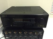 onkyo integrated amplifier. onkyo a-sv810 pro integra amplifier a/v tuner integrated amp surround sound