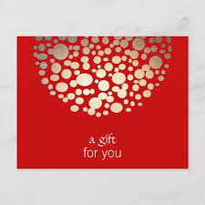 Holiday Gift Certificates Gold And Red Holiday Gift Certificate