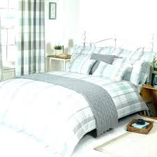 black and white buffalo check bedding cotton duvet cover grey plaid quilt red cream co covers