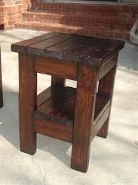 rustic end tables. Attractive Wood End Tables Best 25 Rustic Ideas On Pinterest
