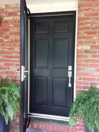 front door hardware brushed nickel. And When You Look At The Freshly Painted Front Door Along With \ Hardware Brushed Nickel N